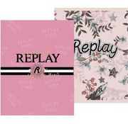Replay A5 schriften - flowers