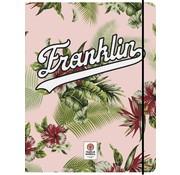 Franklin & Marshall Girls elastomap A4  - flowers