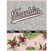 Franklin & Marshall A4 lijntjes schrift - flowers
