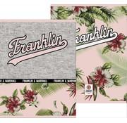 Franklin & Marshall Girls A5 lijntjes schriften - flowers