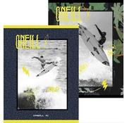 O'Neill A5 schriften gelinieerd - yellow