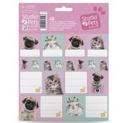 Studio Pets Etiketten en stickers