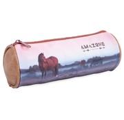 Amazone Etui paard rond - bruin