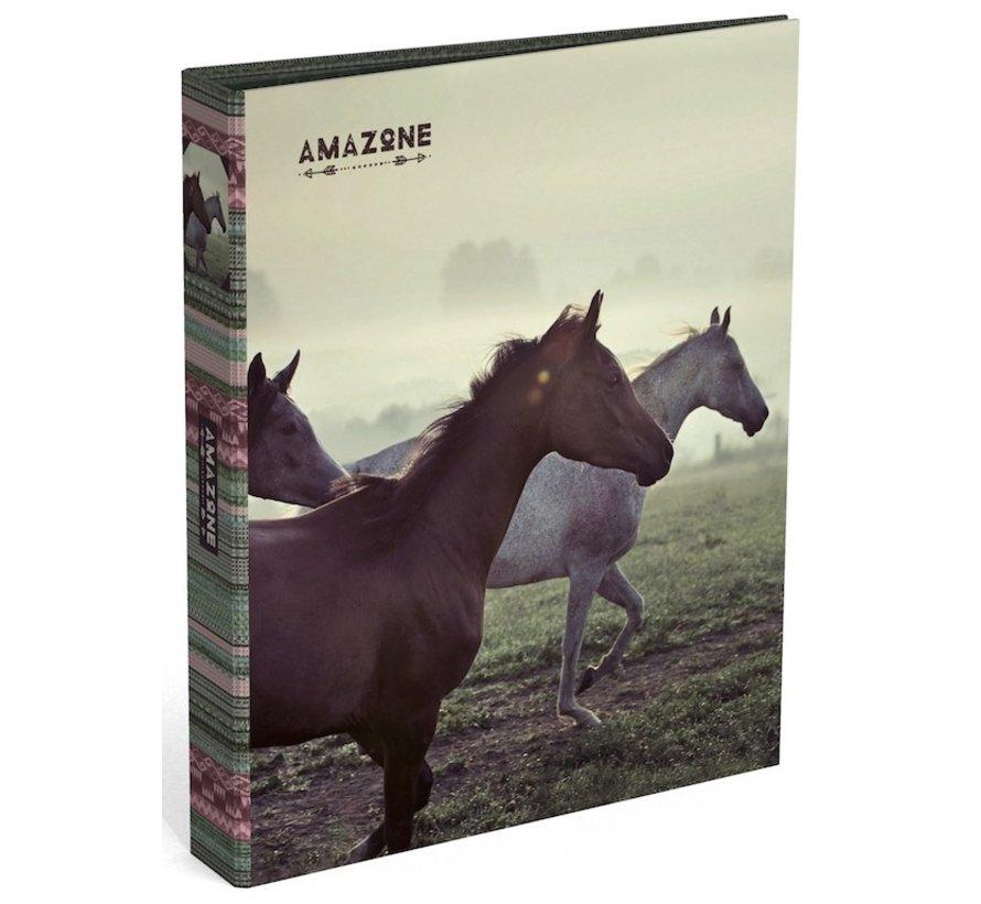 Paarden ringband - groen