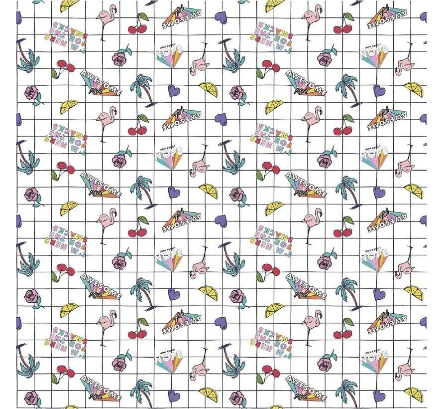 Kaftpapier - square