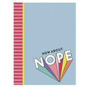 Awesome Girls A4 ruitjes schrift - nope