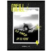O'Neill A4 ruitjes schrift - yellow