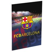 Barcelona A4 lijntjes schrift Camp Nou