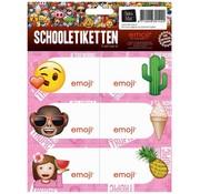 Emoji Girls etiketten