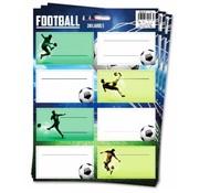 Football Etiketten - voetbal