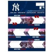 New York Yankees Etiketten - city blue