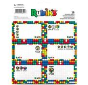 Rubik's 18x Etiketten - Rubik cube
