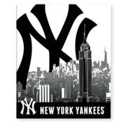 New York Yankees Ringband 2r -zwart/wit