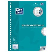 Oxford Ringband papier - geruit 10mm