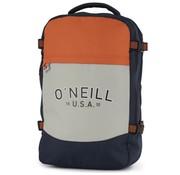 O'Neill Laptop rugzak grijs/oranje - middel
