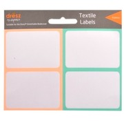 Dresz Textiel etiketten - perzik/mint