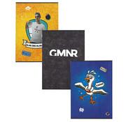 GameMeneer GMNR A4 ruitjes schrift - 3 stuks