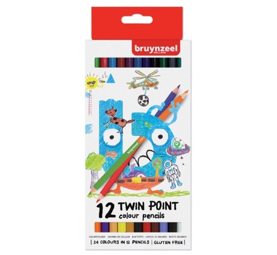 Twinpoint kleurpotloden