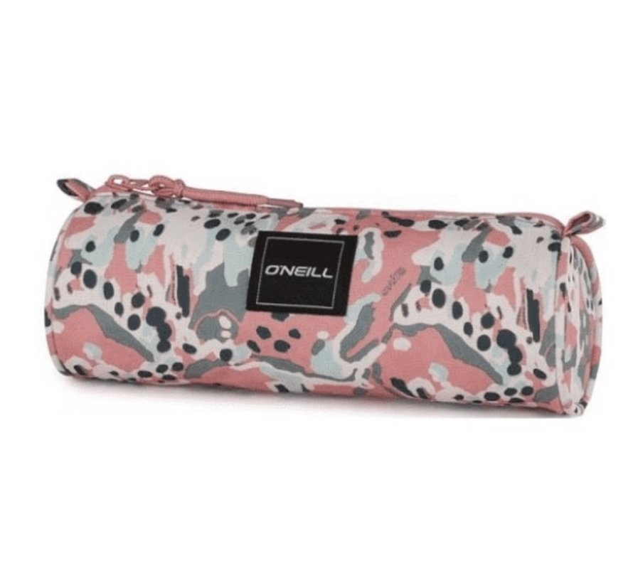 Girls rond etui - Coral