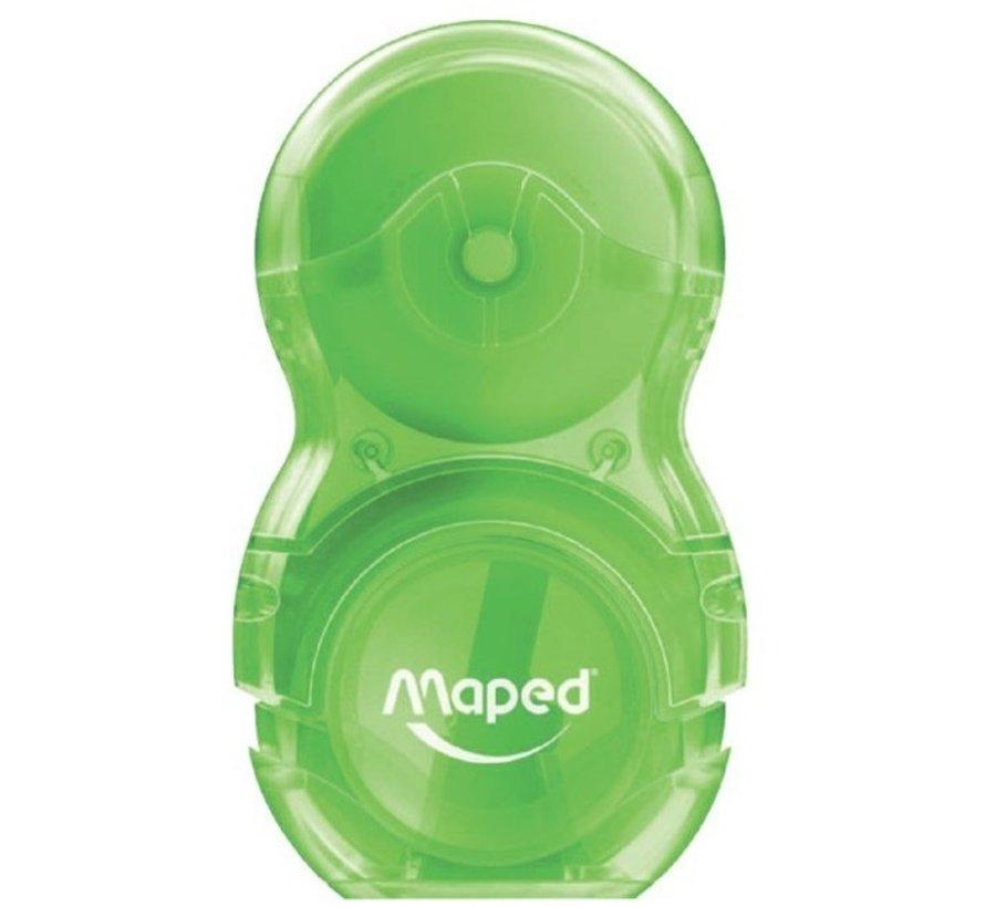 Loopy gum / puntenslijper - groen
