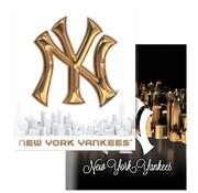 New York Yankees City A5 schriften lijn - zwart goud