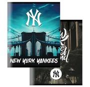New York Yankees City A5 schriften lijn - zwart blauw
