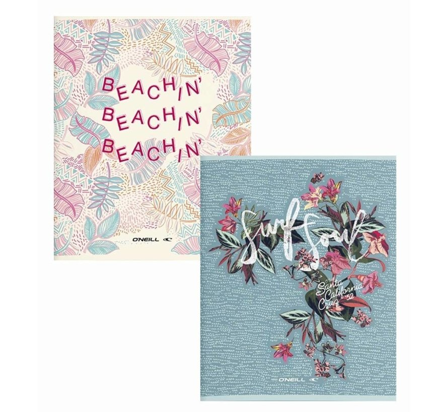 A5 lijntjes schriften - beachin