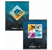 O'Neill A5 schriften gelinieerd - donkerblauw