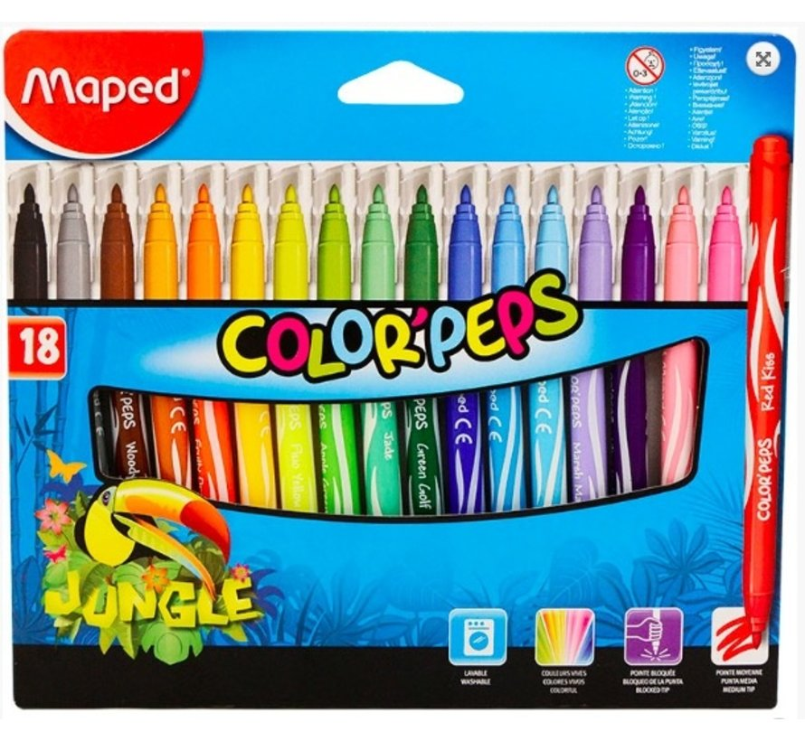 Colorpeps stiften - 18st