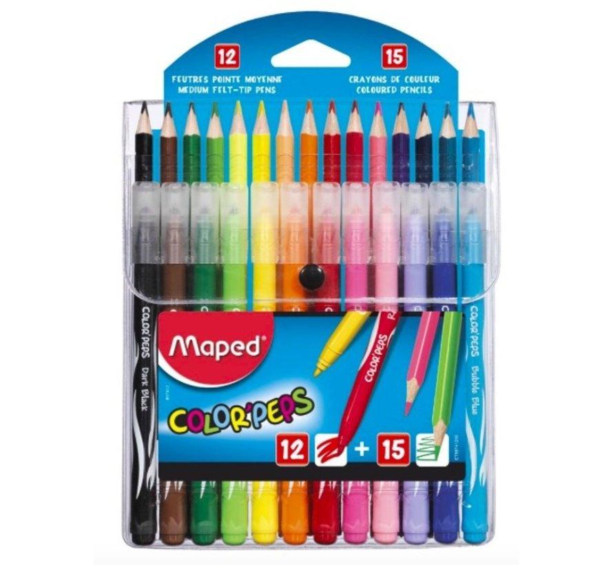 Colorpeps stiften en potloden