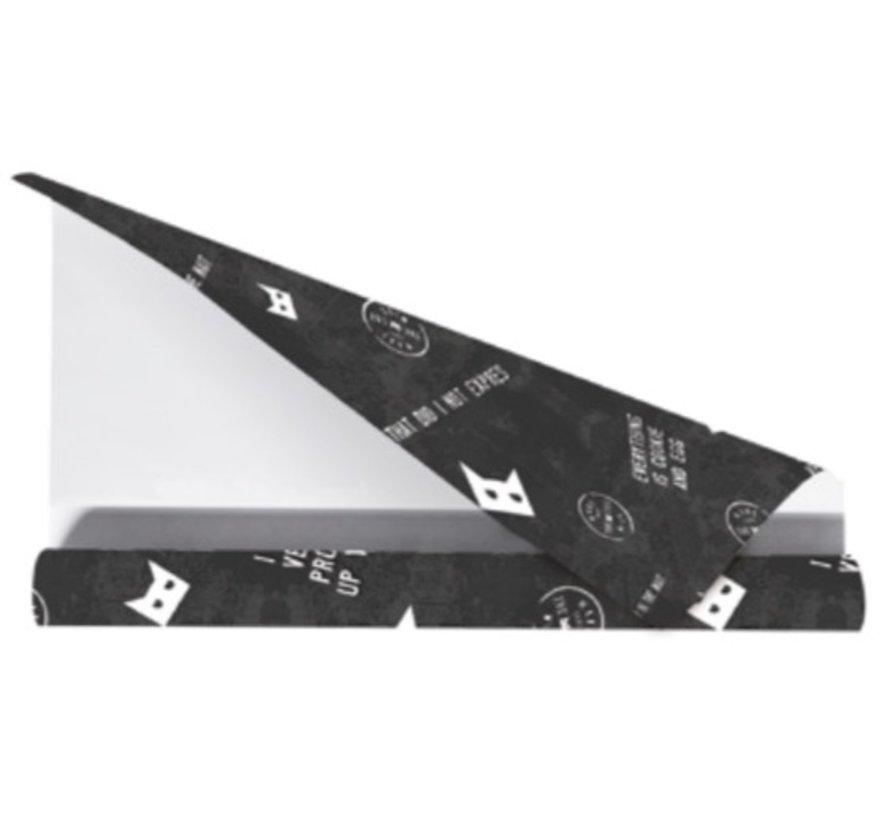 Kaftpapier MTTCW - zwart