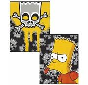 The Simpsons A5 schriften lijn - doodshoofd