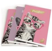 Studio Pets A5 schriften - roze/lila