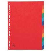 OEM Tabbladen gekleurd karton - 12 delig extra dik