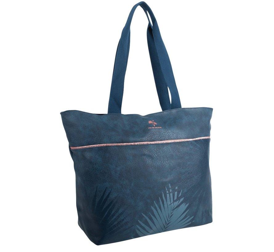 Shopper - donkerblauw