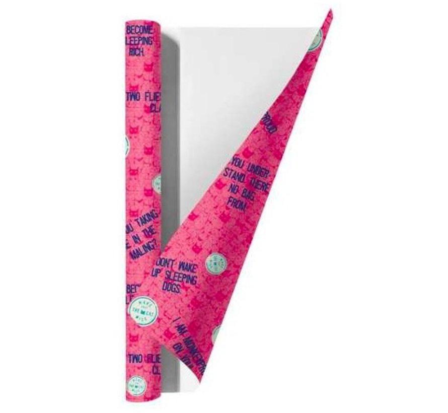 Kaftpapier MTTCW - roze