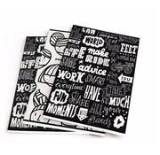 Paperfuel A5 schriften - meisje