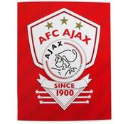 Ajax Ajax since 1900 ruitjes schrift