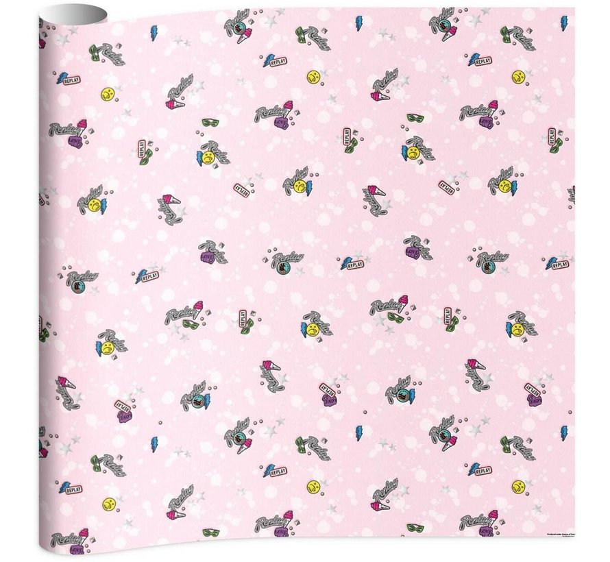 Kaftpapier - pink