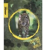 National Geographic NGJ A5 lijntjes schrift 3 stuks