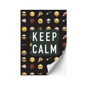 Emoji 2=1 Emoji Boys A4 ruitjes schrift