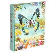 Gingerbread Ringband 23r - vlinder