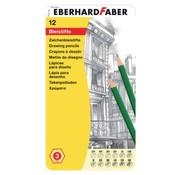 Eberhard Faber Grafietpotloden in blik - 12st
