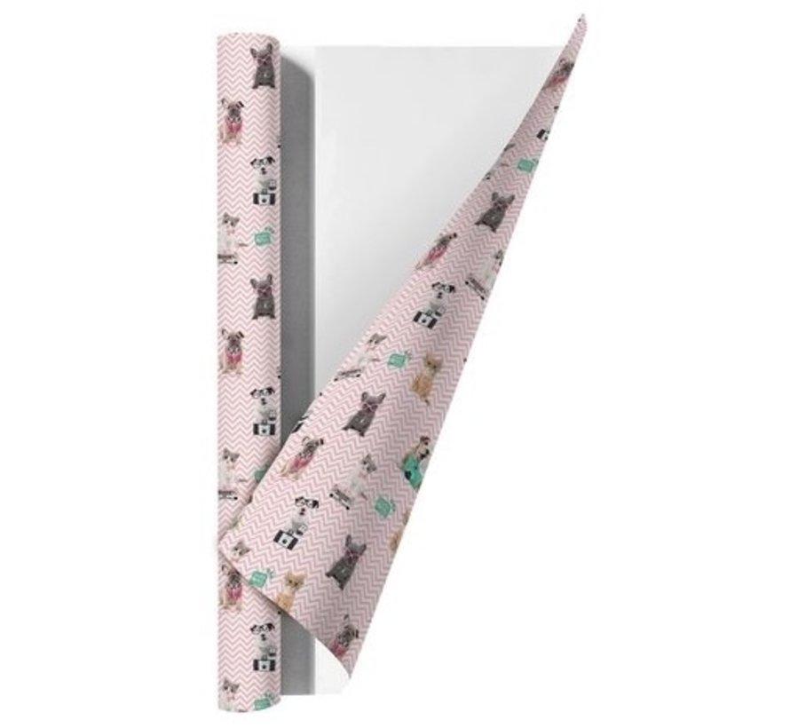 Kaftpapier - streep