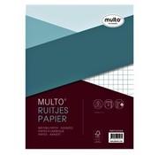 Multo A4 Ringband papier - geruit 10mm 23 rings