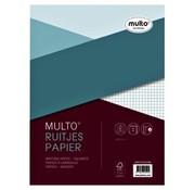 Multo A4 Ringband papier - geruit 5mm 23 rings