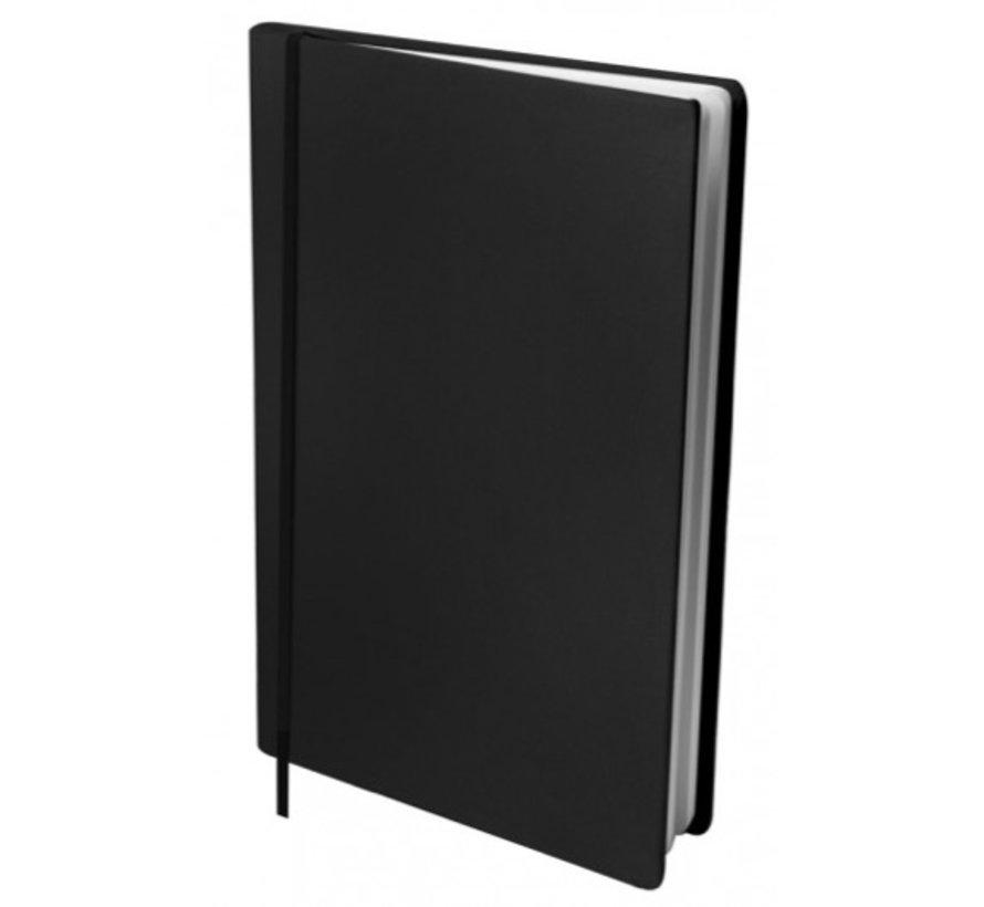Voordeel pakket rekbaar kaft - A4 zwart 6x