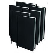Dresz Voordeel pakket rekbaar kaft - A4 zwart 6x