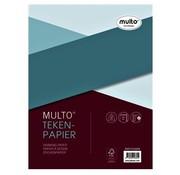 Multo Tekenpapier - wit 120g -23r