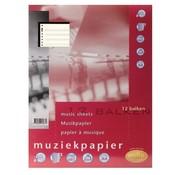 Multo Muziekpapier - notenbalk papier